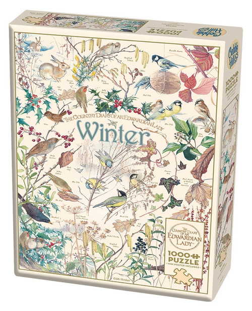 Country Diary: Winter - 1000pc Jigsaw Puzzle By Cobble Hill