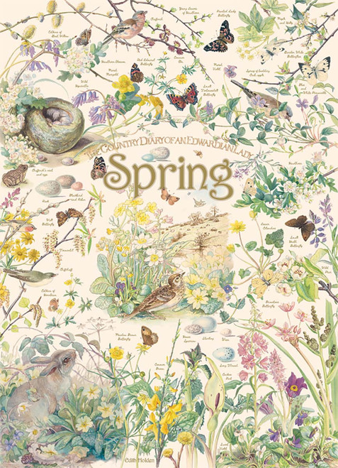 Country Diary: Spring - 1000pc Jigsaw Puzzle By Cobble Hill