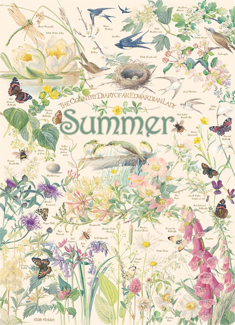 Country Diary: Summer - 1000pc Jigsaw Puzzle By Cobble Hill