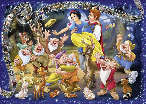 Disney Collector's Edition: Snow White - 1000pc Jigsaw Puzzle By Ravensburger