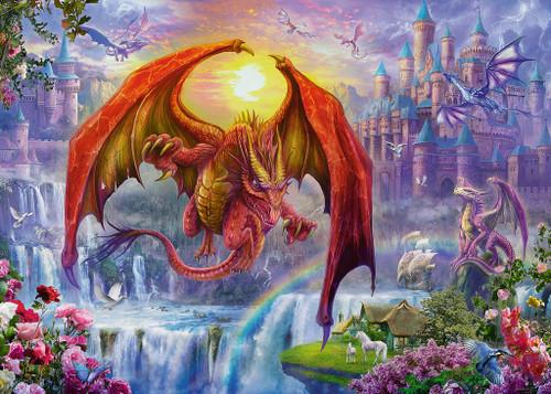 Dragon Kingdom - 1000pc Jigsaw Puzzle By Ravensburger