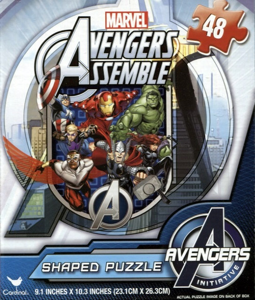 Marvel Avengers Assemble 4 - 48pc Shaped Puzzle by Cardinal