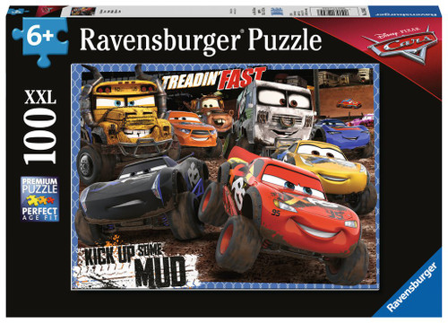 Cars: Mudders - 100pc Jigsaw Puzzle By Ravensburger