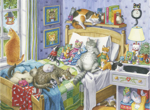 Cat Nap - 500pc Large Format Jigsaw Puzzle By Ravensburger