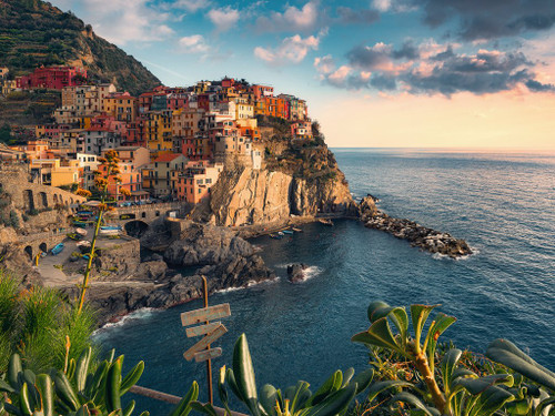 Cinque Terre Viewpoint - 1500pc Jigsaw Puzzle By Ravensburger