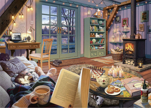 Cozy Retreat - 500pc Large Format Jigsaw Puzzle By Ravensburger