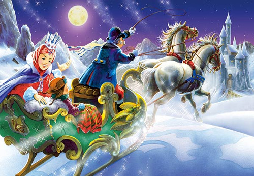 The Snow Queen - 120pc Jigsaw Puzzle by Castorland
