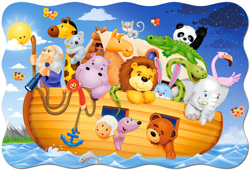 Noah's Ark - 20pc Shaped Jigsaw Puzzle by Castorland