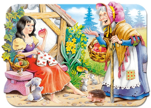 Snow White - 30pc Shaped Puzzle by Castorland