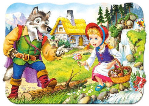 Little Red Riding Hood - 30pc Shaped Puzzle by Castorland
