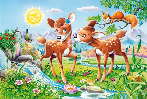 Little Deers - 40pc Jigsaw Puzzle by Castorland