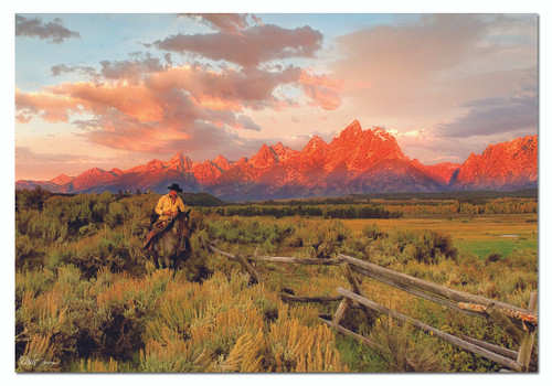 Robert Dawson: Riding Fences - 1000pc Jigsaw Puzzle by Educa