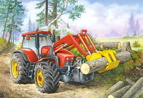 Forest Site (B-06366) - 60pc Jigsaw Puzzle by Castorland