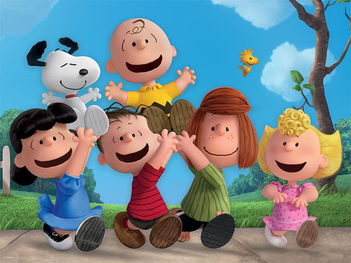 Together Time: Peanuts - 400pc Family Style Puzzle by Ceaco