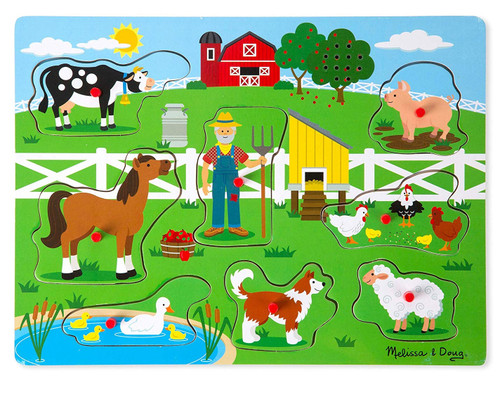 Old MacDonald's Farm - 8pc Sound Puzzle by Melissa & Doug