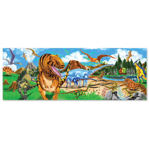 Land of the Dinosaurs - 48pc Floor Puzzle  by Melissa & Doug