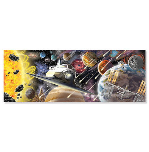Exploring Space - 200pc Floor Puzzle  by Melissa & Doug