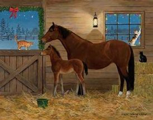 Barn Buddies - 300pc Large Format Jigsaw Puzzle by SunsOut
