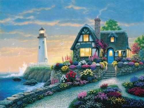 Richard Burns: Lighthouse Overlook - 1000pc Jigsaw Puzzle by Clementoni