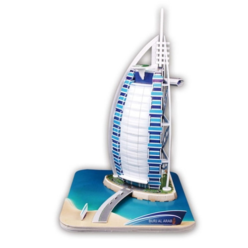 Burj al Arab - 44pc 3D Puzzle by CubicFun
