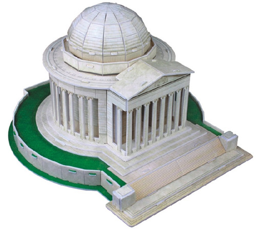 Thomas Jefferson Memorial - 35pc 3D Puzzle by CubicFun