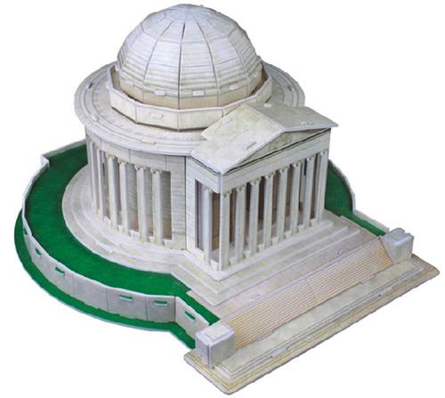 Thomas Jefferson Memorial - 35pc 3D Puzzle by CubicFun