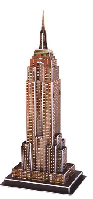Empire State Building - 39pc 3D Puzzle by CubicFun