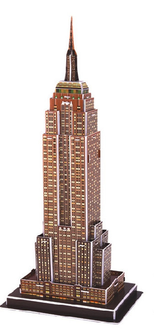 Empire State Building - 39pc 3D Puzzle by CubicFun