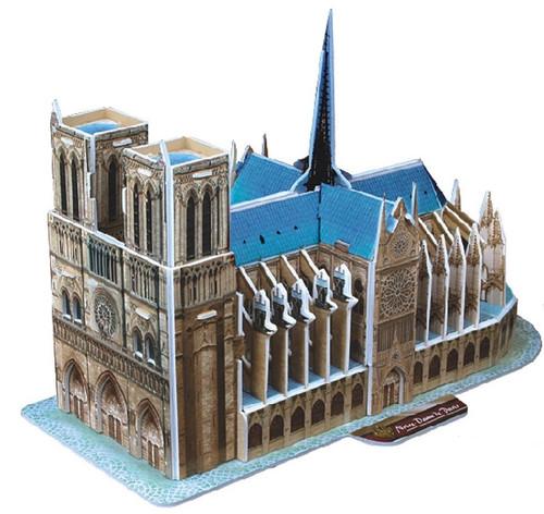 Notre Dame de Paris - 40pc 3D Puzzle by CubicFun