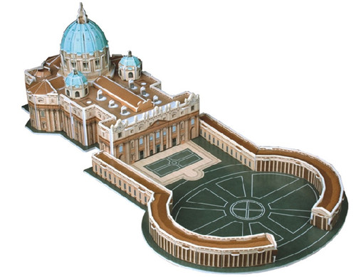 St. Peter's Basilica - 56pc 3D Puzzle by CubicFun