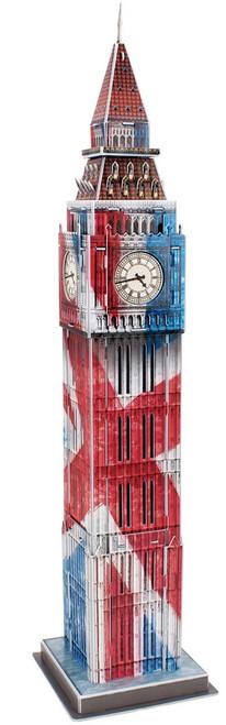 Big Ben: Union Jack  - 47pc 3D Puzzle by CubicFun