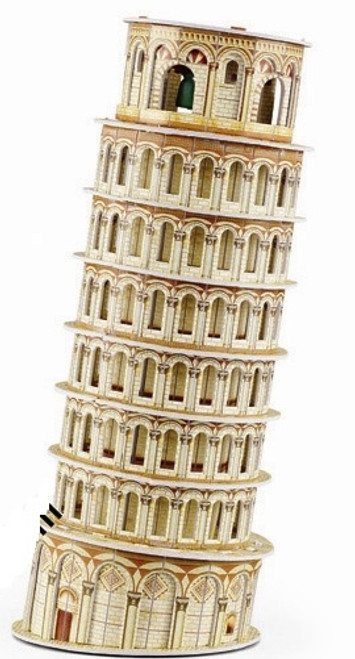 Leaning Tower - 28pc 3D Puzzle by Magic Puzzle