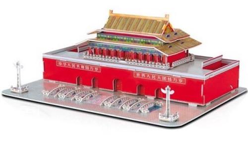 Tiananmen - 61pc 3D Puzzle by Magic Puzzle