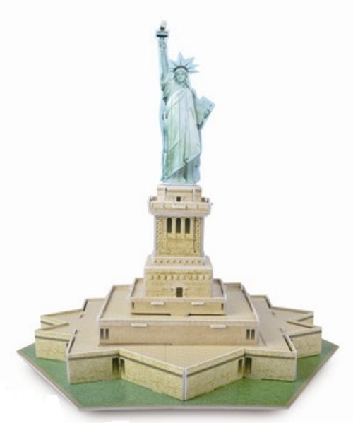 Statue of Liberty - 30pc 3D Puzzle by Magic Puzzle