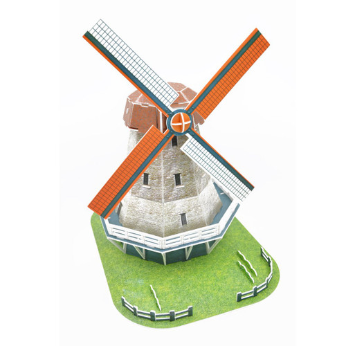 Holland Windmill - 45pc 3D Puzzle by Magic Puzzle