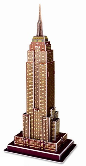 Empire State Building - 39pc 3D Puzzle by Magic Puzzle
