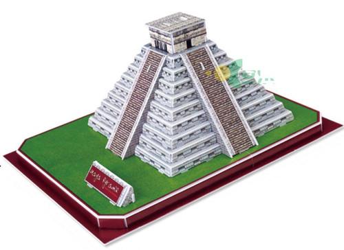 Maya Pyramid - 50pc 3D Puzzle by Magic Puzzle
