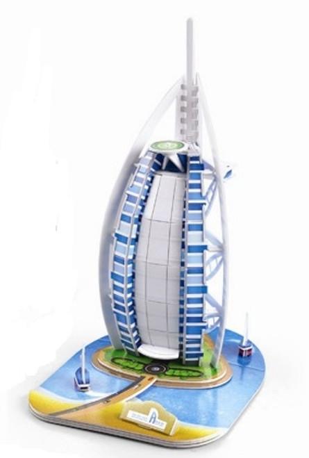 Burj al Arab - 34pc 3D Puzzle by Magic Puzzle