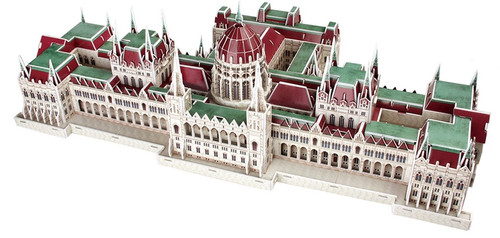 Hungarian Parliament Building - 242pc 3D Puzzle by CubicFun