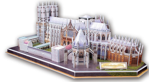 Westminster Abbey - 145pc 3D Puzzle by CubicFun