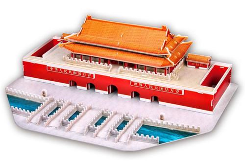 Tiananmen - 84pc 3D Puzzle by CubicFun