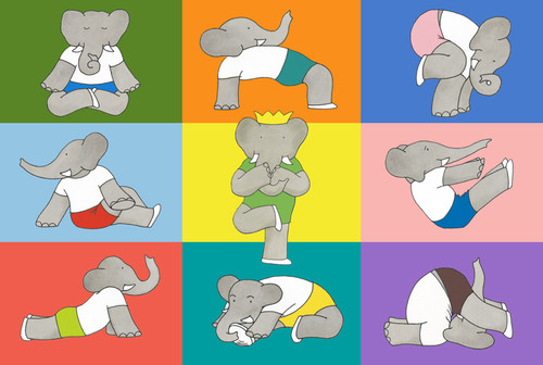 Namaste Babar - 36pc Floor Puzzle by New York Puzzle Company