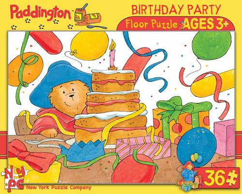 Paddington: Birthday Party - 36pc Floor Puzzle by New York Puzzle Company
