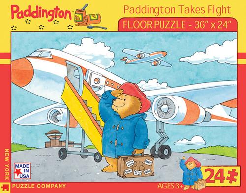 PaddingtonTakes Flight - 24pc Floor Puzzle by New York Puzzle Company