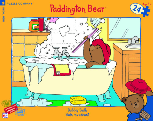Paddington Bear: Bubbly Bath - 24pc Floor Puzzle by New York Puzzle Company