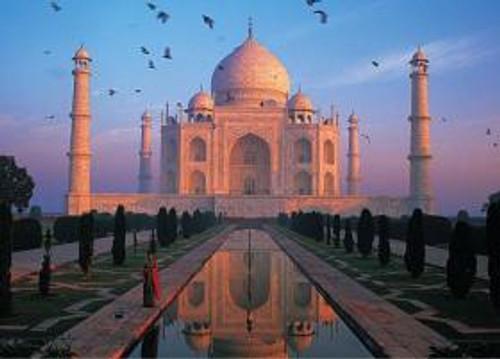 Taj Mahal, Agra - 500pc World's Smallest Jigsaw Puzzle by Tomax