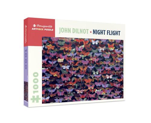 John Dilnot: Night Flight - 1000pc Jigsaw Puzzle by Pomegranate