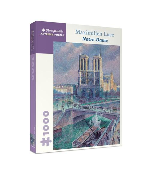 Maximilien Luce: Notre-Dame - 1000pc Jigsaw Puzzle by Pomegranate