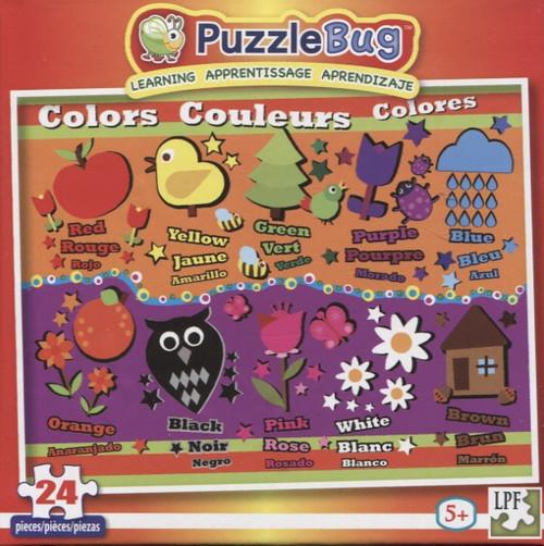 Colors - 24pc Educational Jigsaw Puzzle by Lafayette Puzzle Factory