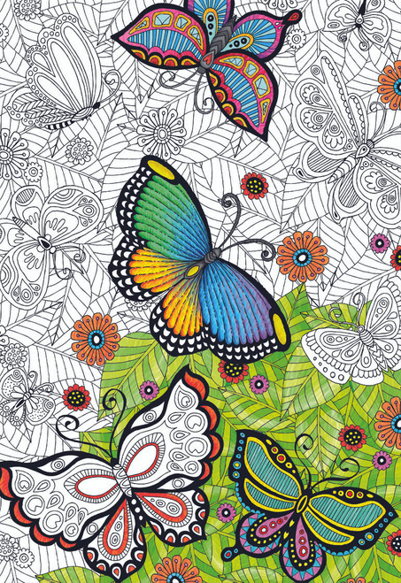 All Good Things Are Wild And Free - 300pc Coloring Jigsaw Puzzle by Educa